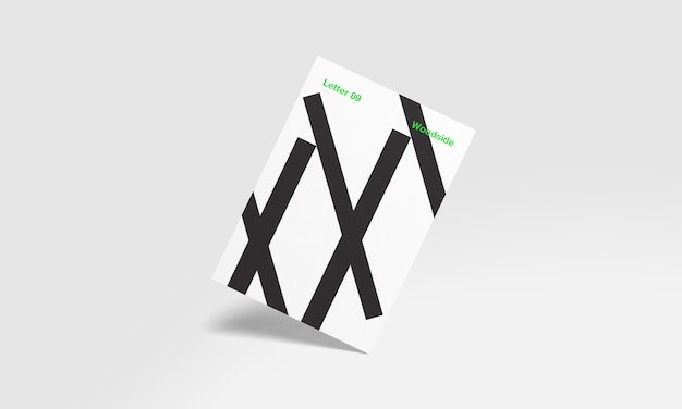 A4 and us letter mockup