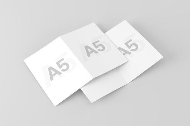 Двойной макет брошюры a5 / a5