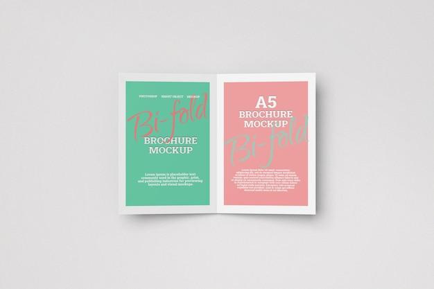 Макет брошюры a5 bifold