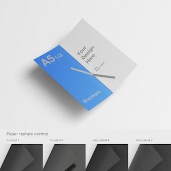 A5 brochure template