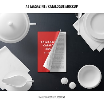 A5 잡지 카탈로그 이랑