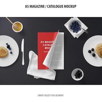 A5 журнал каталог макет