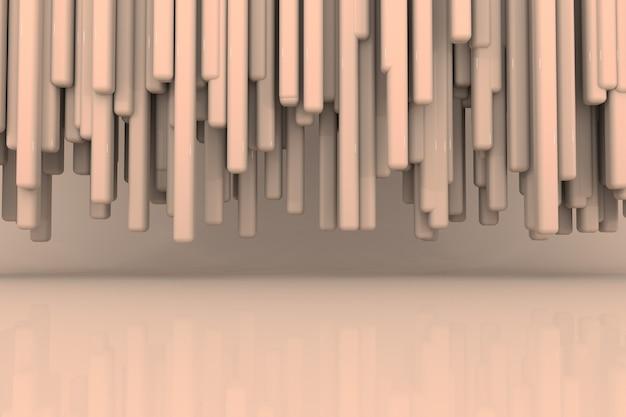 제품 디스플레이 렌더링을위한 추상적 인 배경 장면