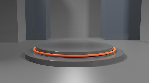 Абстрактная фоновая сцена для рендеринга дисплея продукта