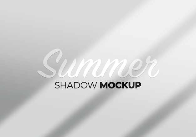 Abstract background window shadow mockup light concept on a white wall