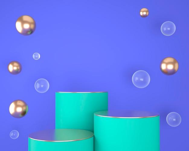 Абстрактные геометрические формы отображения продукта