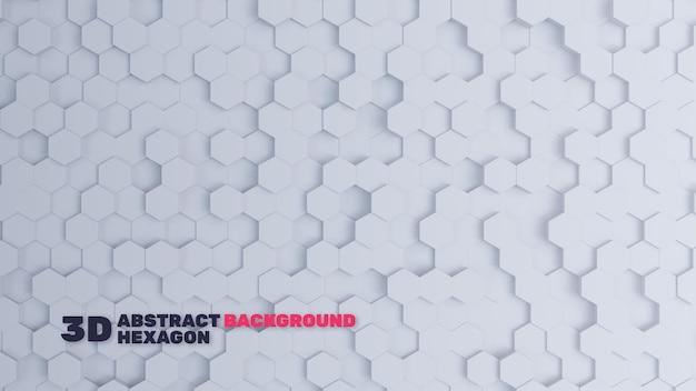 Фон абстрактный серый шестиугольник