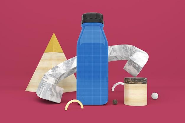 Абстрактная бутылка сока