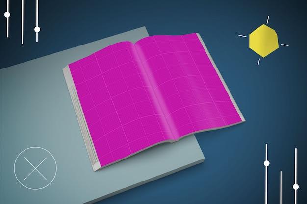 Абстрактный журнал макет