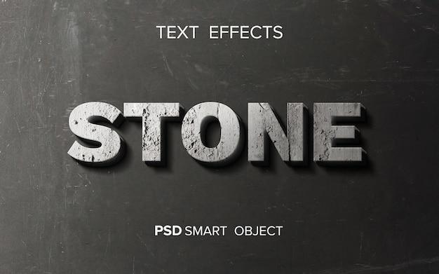 Эффект абстрактного камня
