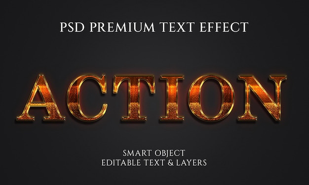 Дизайн текстовых эффектов действий