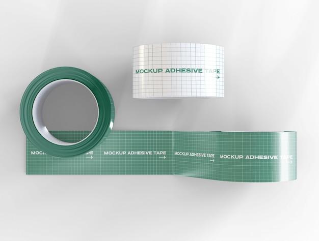 Adhesive tapes mockup