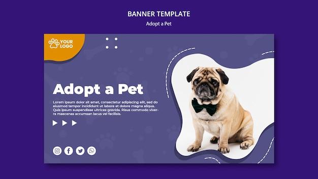 Adopt a pet banner theme