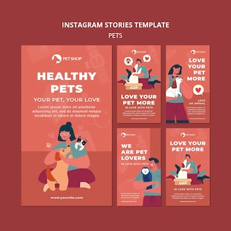 Adopt pets instagram stories