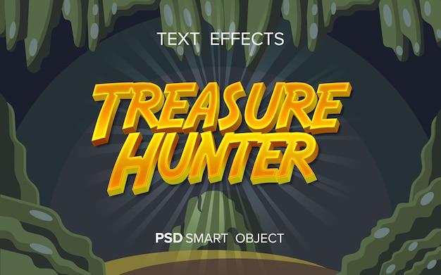 Текстовый эффект приключенческой игры