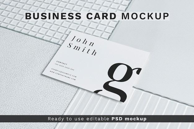 Эстетический макет визитки psd фирменный стиль