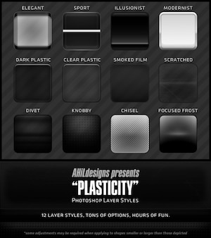 Ahil plastic ps layer styles