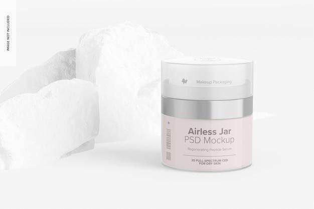 Airless jar mockup
