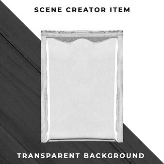 Алюминиевый контейнер-сумка прозрачный psd