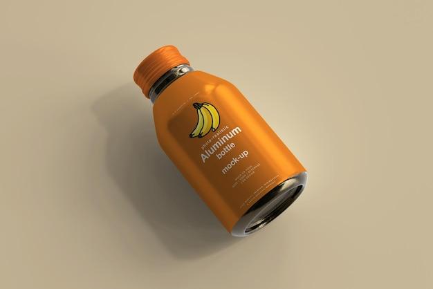 アルミ飲料ボトルモックアップ