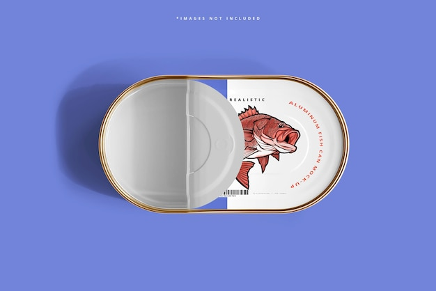 알루미늄 물고기 수 모형