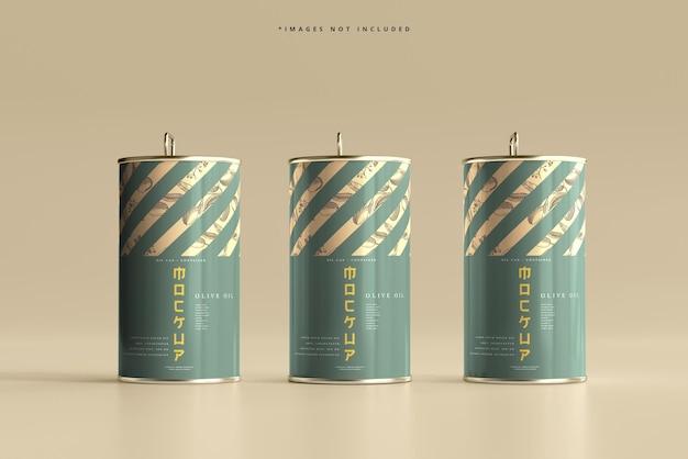 アルミオイル缶モックアップ