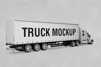 American truck mockup