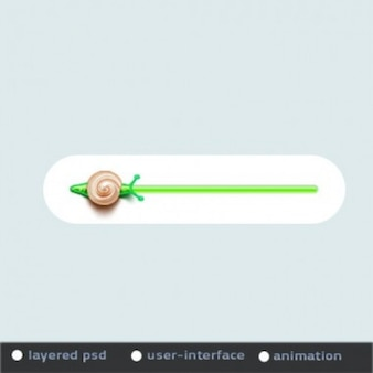 Animato barra di avanzamento verde