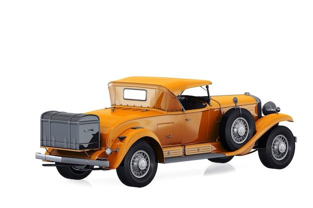 アンティークカー1930モックアップ