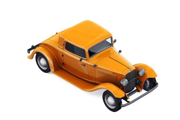 Antique car 1932 mockup