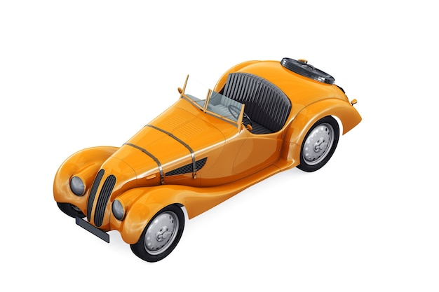 Mockup di auto d'epoca 1936