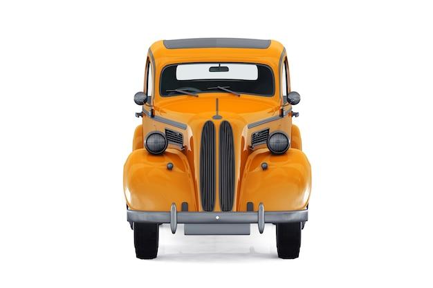 Mockup di auto d'epoca 1949
