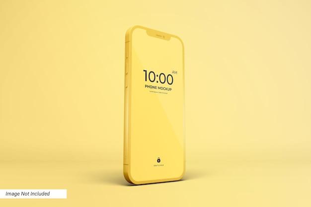 Экран приложения и макет смартфона