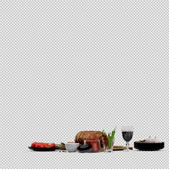 Appetizers of tomato, meat on wooden board with wine glass