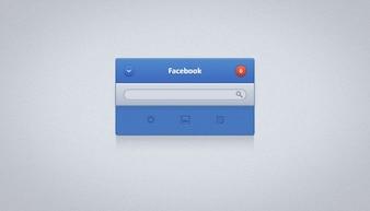 Apple facebook ios minimalistic osx ui