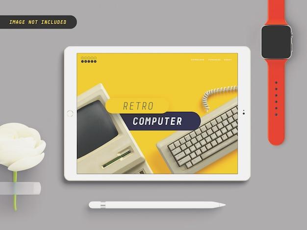 Пользовательский макет apple ipad