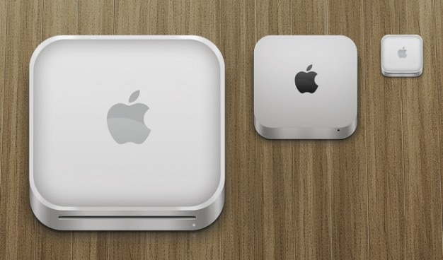 Apple mac mini icons