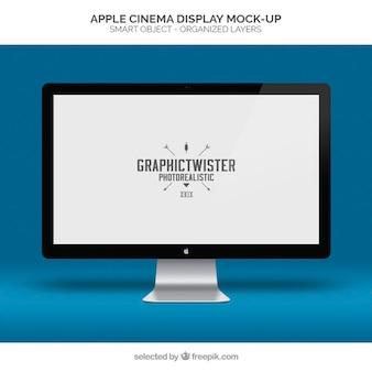 Apple, дисплей кино макет