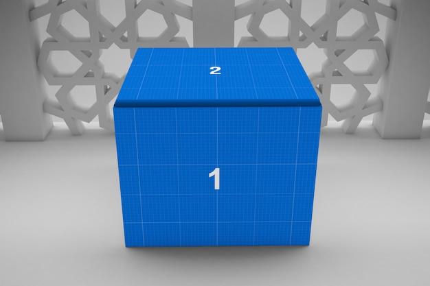 Arabic box mockup