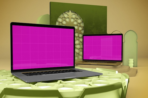 Arabic laptop