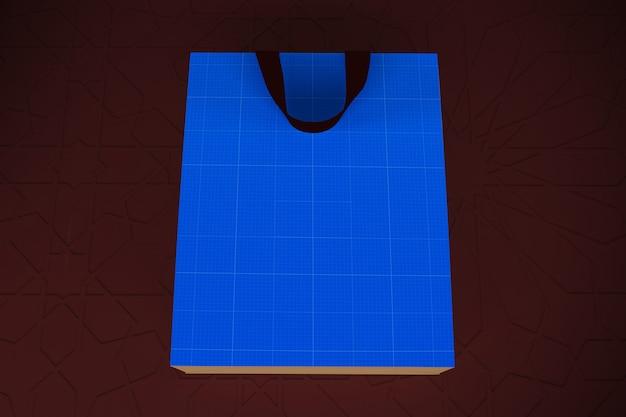 Arabic paper bag