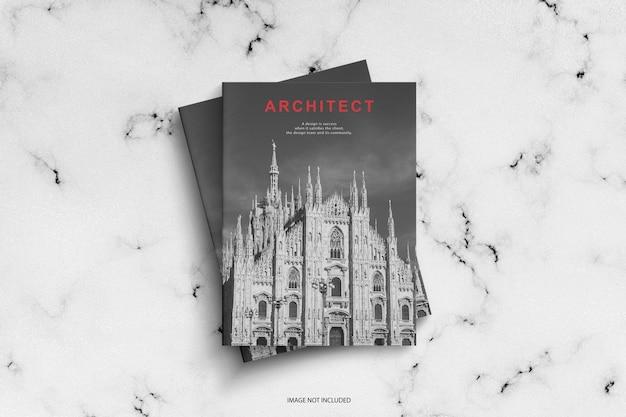 Architect magazine pattern mockup