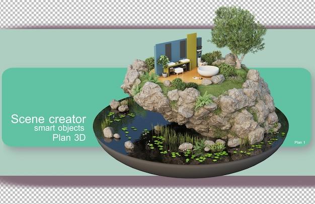 Архитектурные и интерьерные чертежи в 3d-рендеринге