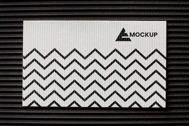 Disposizione del mock-up del marchio su carta Psd Gratuite