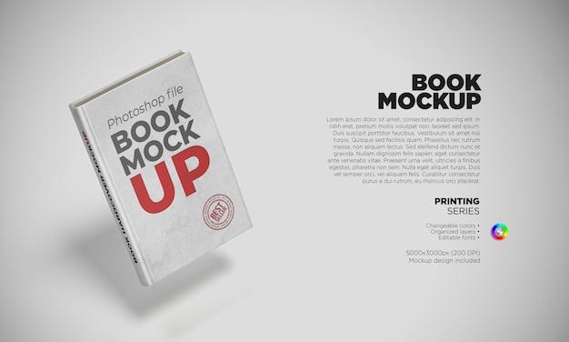 Arrangement of mockup book cover