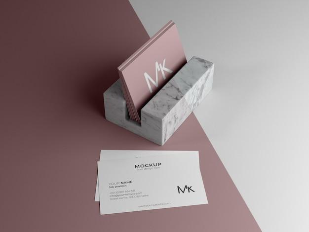 Изготовление макета визитки