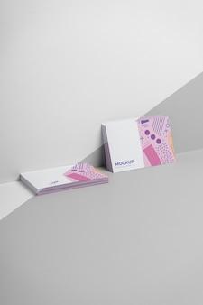Визитные карточки с выкройками