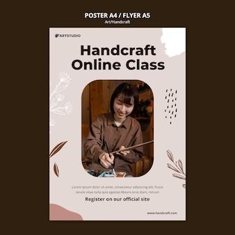 Art and handcraft print template