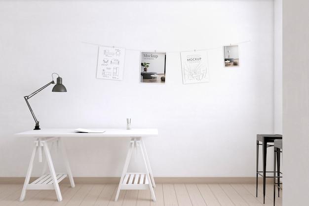 屋内のアーティストルーム