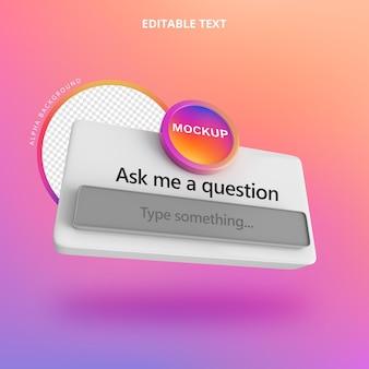 Задайте вопрос instagram 3d isolate right